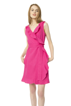 Perette Pink Mini Florence Dress 1