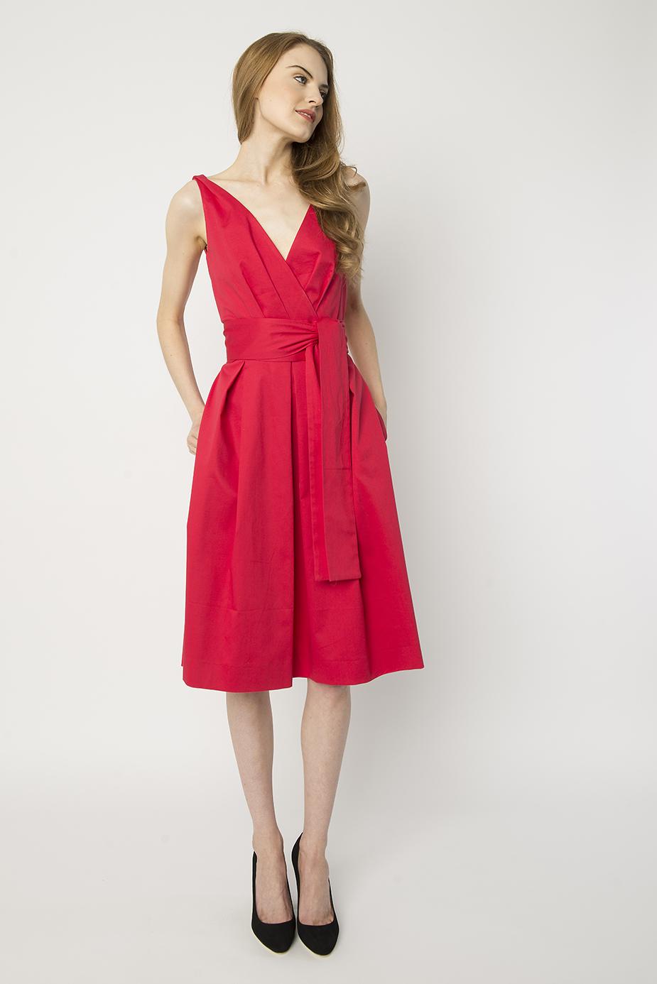 068cd62ed73 Berry Garden Party Dress - Suzy Perette