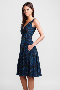 navy cloud garden party dress 1