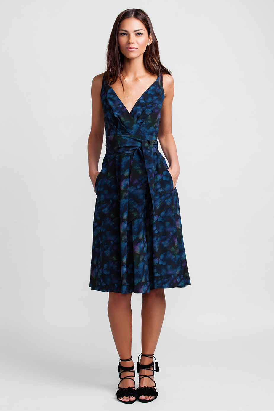 navy cloud garden party dress 2 - Garden Party Dress